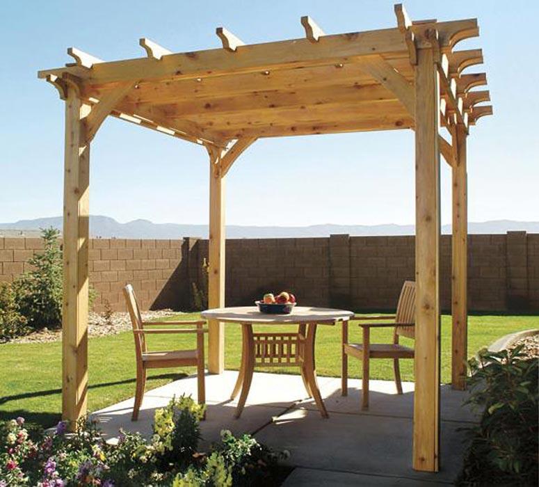Wooden Pergola Plans