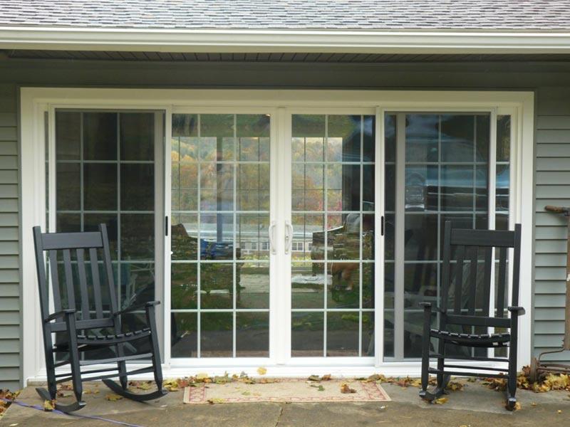 8 Foot Sliding Glass Patio Doors