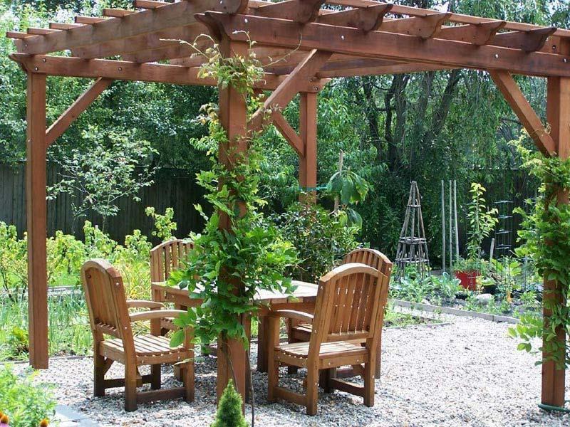 Cheap Garden Pergola