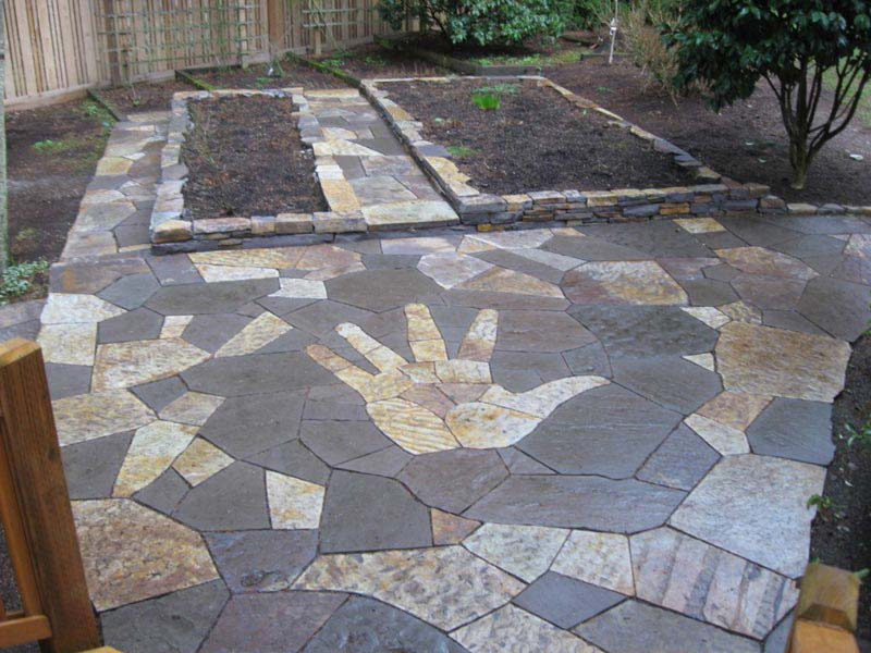 Flagstone Patio Designs Ideas