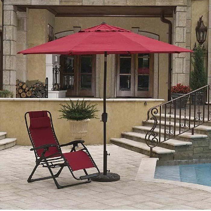 How To Make A Patio Umbrella Stand