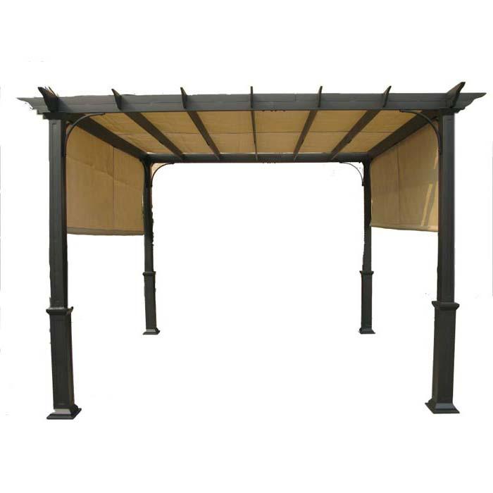Metal Pergola With Canopy