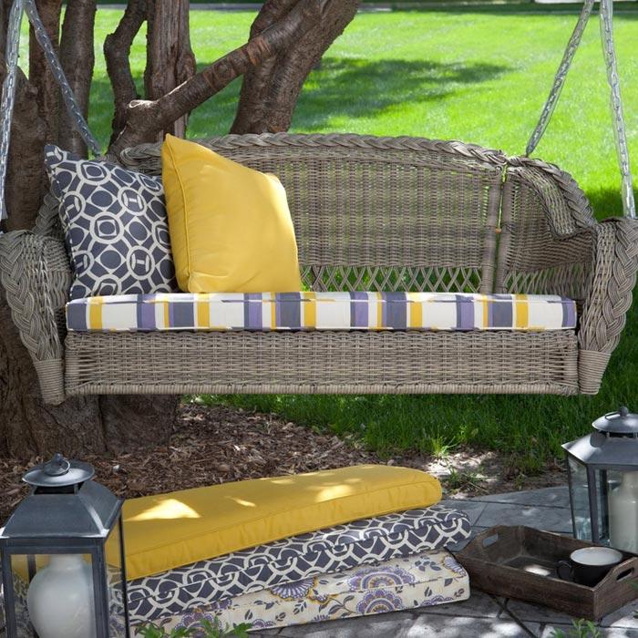 Patio Glider Cushions