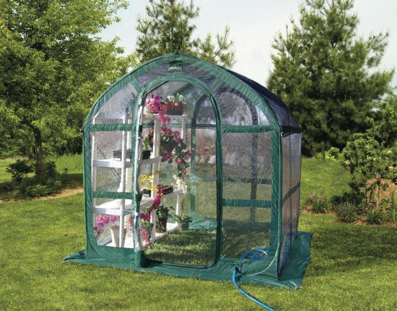 Patio Greenhouse Gardening