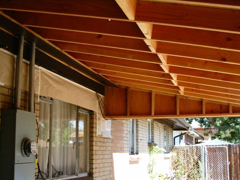 Patio Roofs Built Of Fiberglass