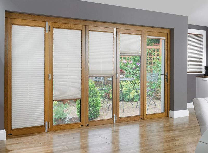 Sliding Patio Doors Require Less Space And Provide More Light