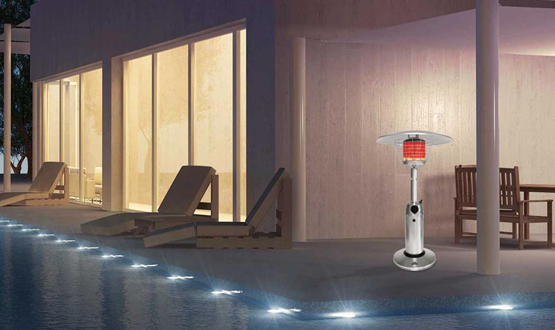 Table Top Patio Heater Youtube