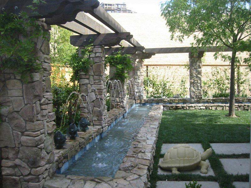 Water Features For Patios Exteriores