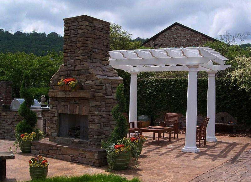 Ana white weatherly pergola