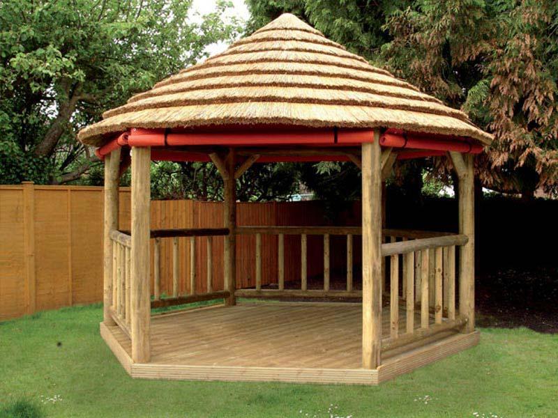 Building A Simple Wooden Gazebo