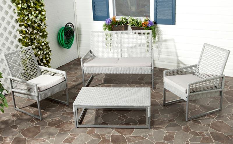 Gray Patio Chair Cushions