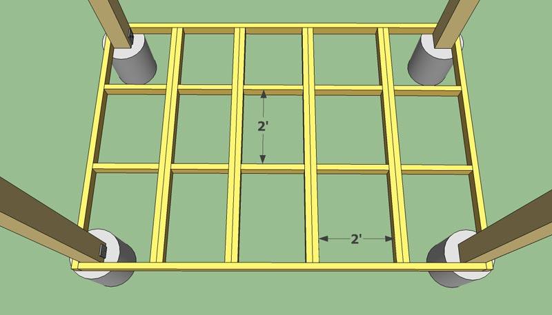 How To Build A Gazebo Floor