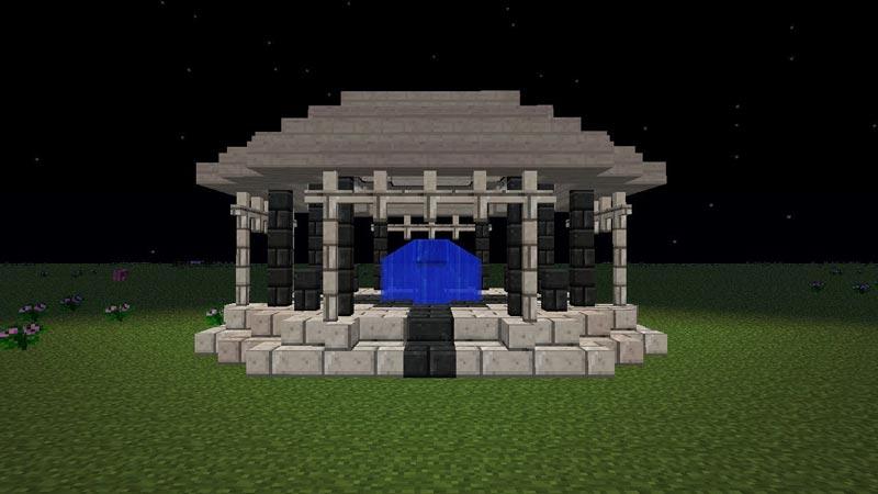 How To Make A Gazebo In Minecraft