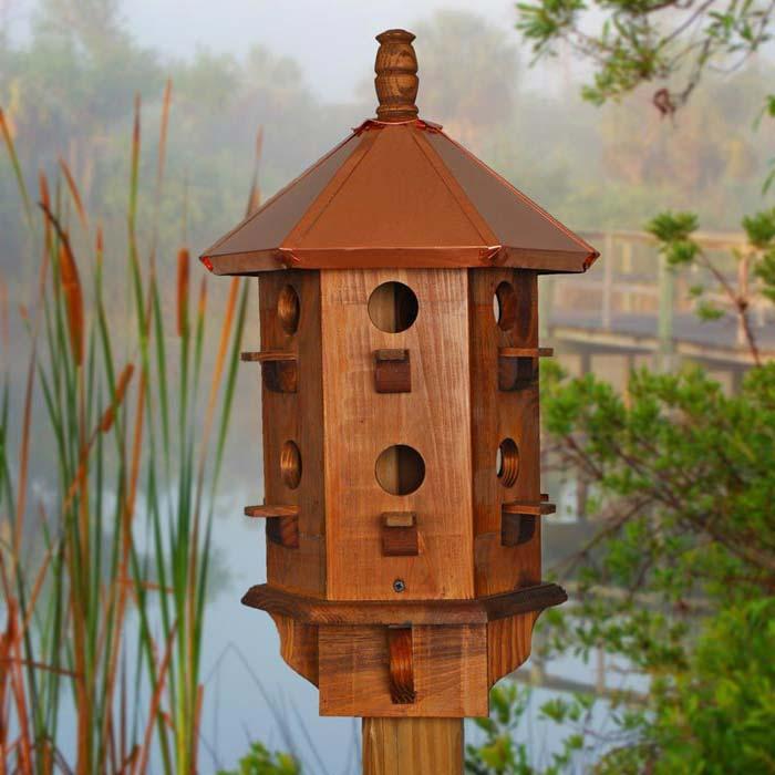 Large Wooden Gazebo Bird Feeders