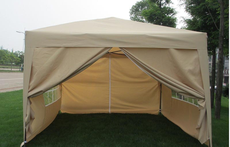 Pop Up Tent With Sides