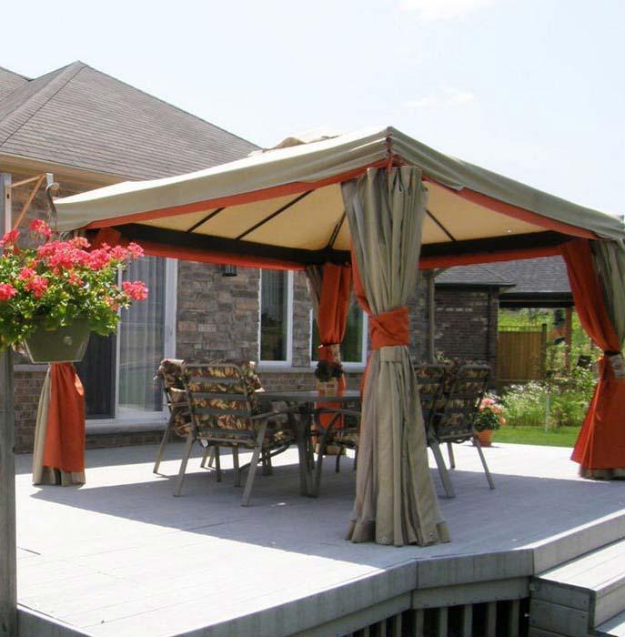 Backyard Gazebo Tent