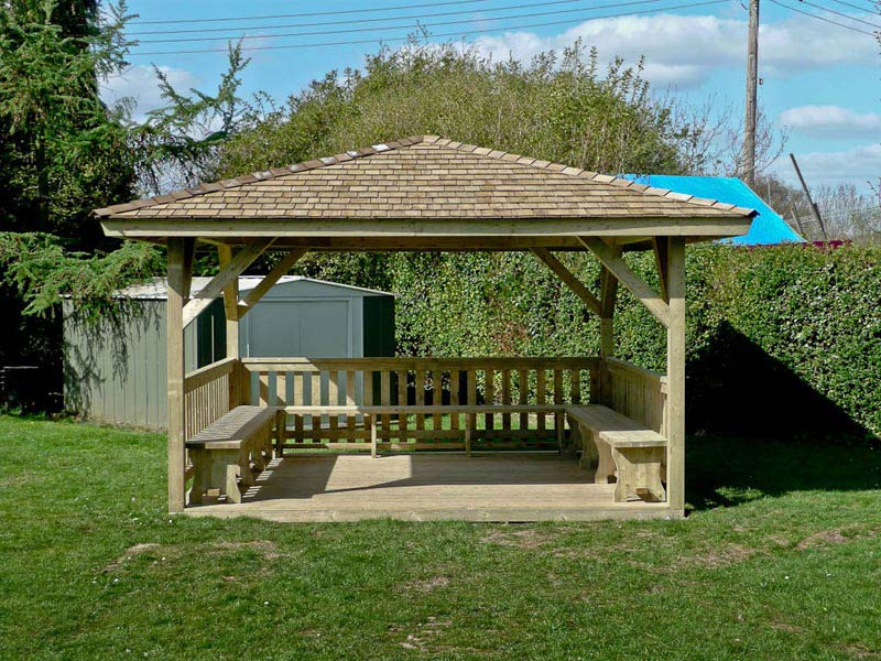 How To Build A Wood Gazebo
