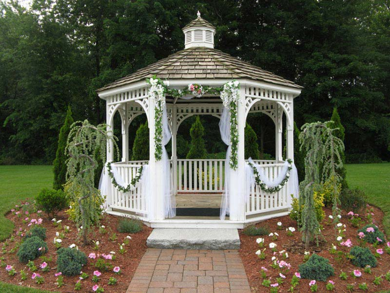 How To Make A Wedding Gazebo