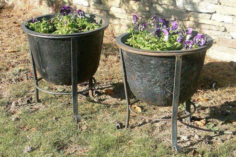 Metal Outdoor Planters