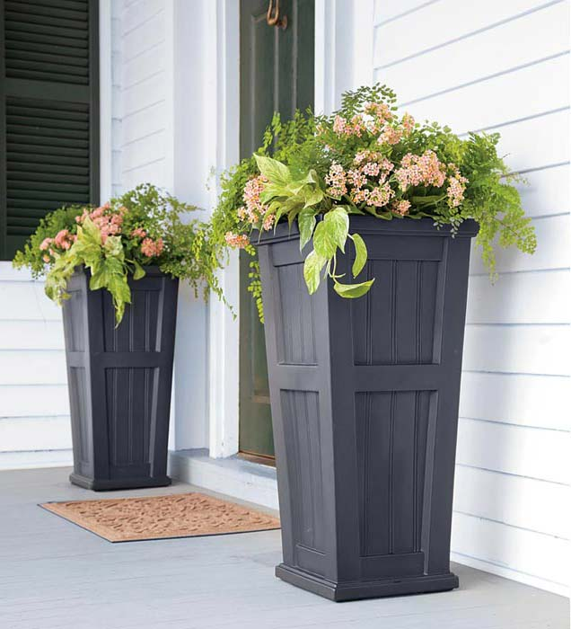 Outside Planters Urns