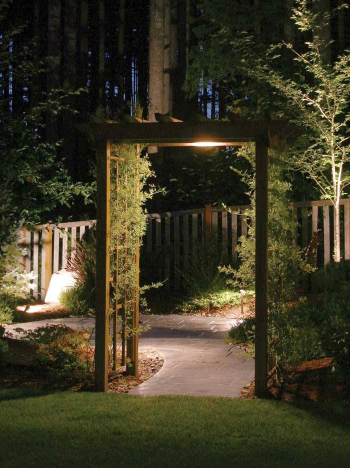 Pergola Lighting Design