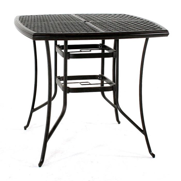 42 Square Patio Table