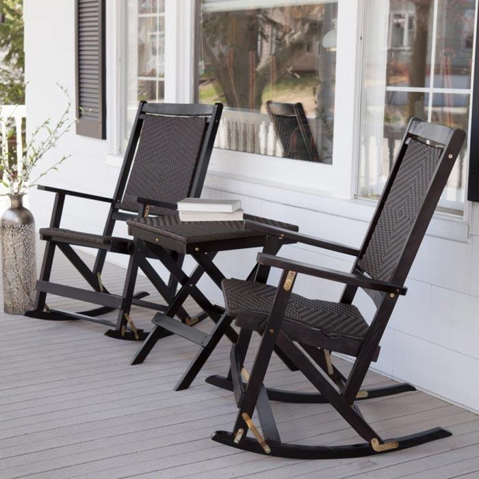 Folding Patio Rocking Chairs