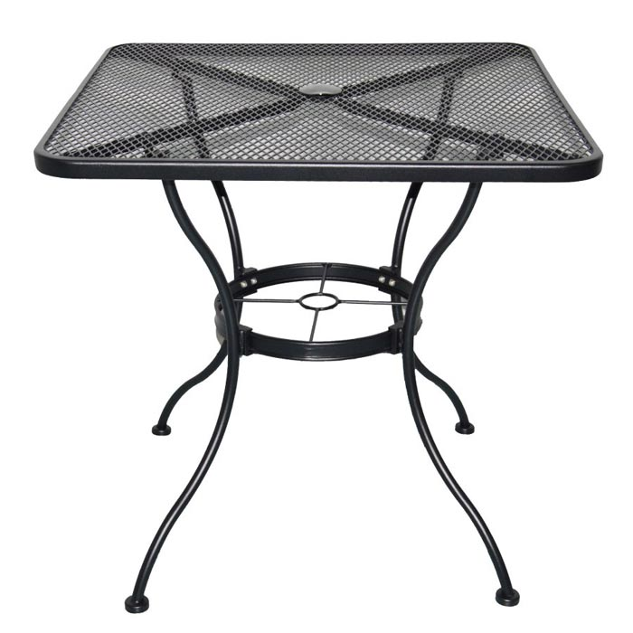 Square Wrought Iron Patio Table