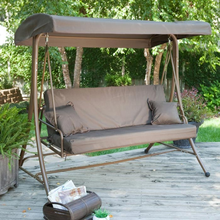 Patio Swing Costco For More Enjoyable Outdoor Rest