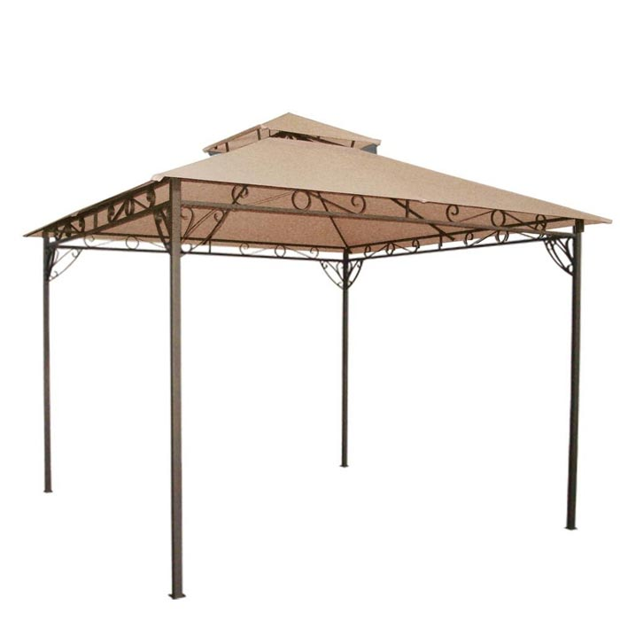 Waterproof gazebo canopy