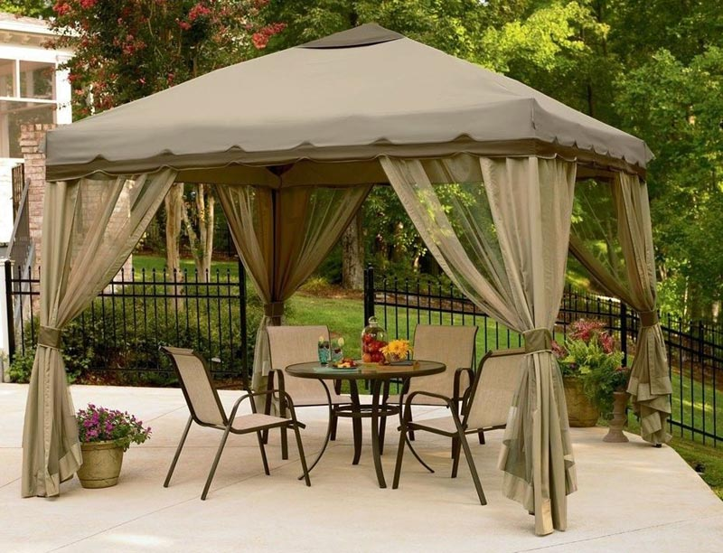 Waterproof pop up garden gazebo