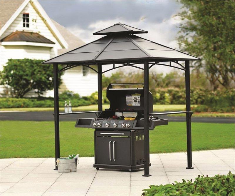 Barbecue gazebo cover