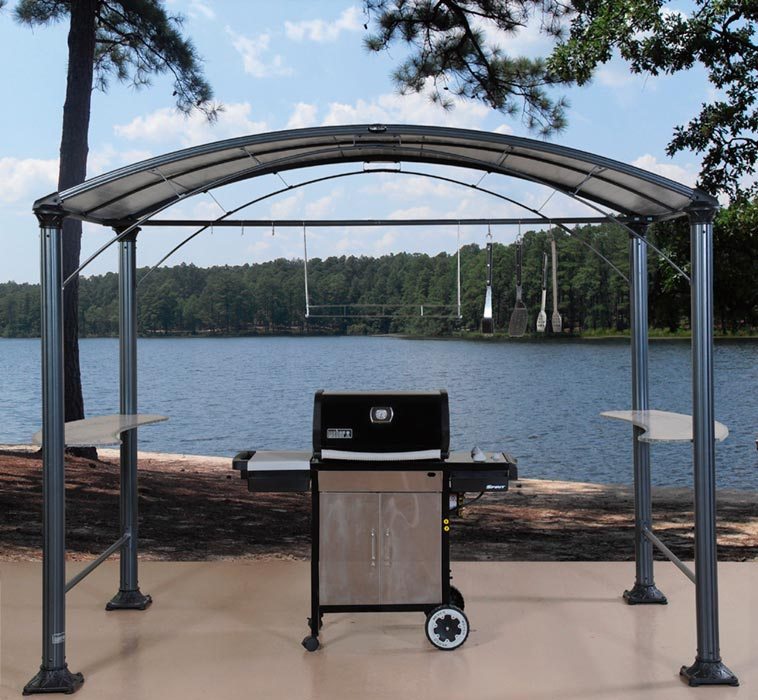 Barbecue Gazebo For Protecting Your Grill From Unfavorable Conditions