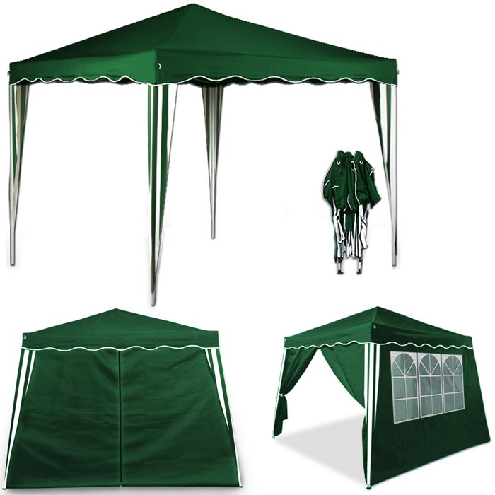 Folding Gazebo As Highly Practical Outdoor Attribute