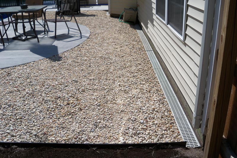 Patio drainage solutions regulations