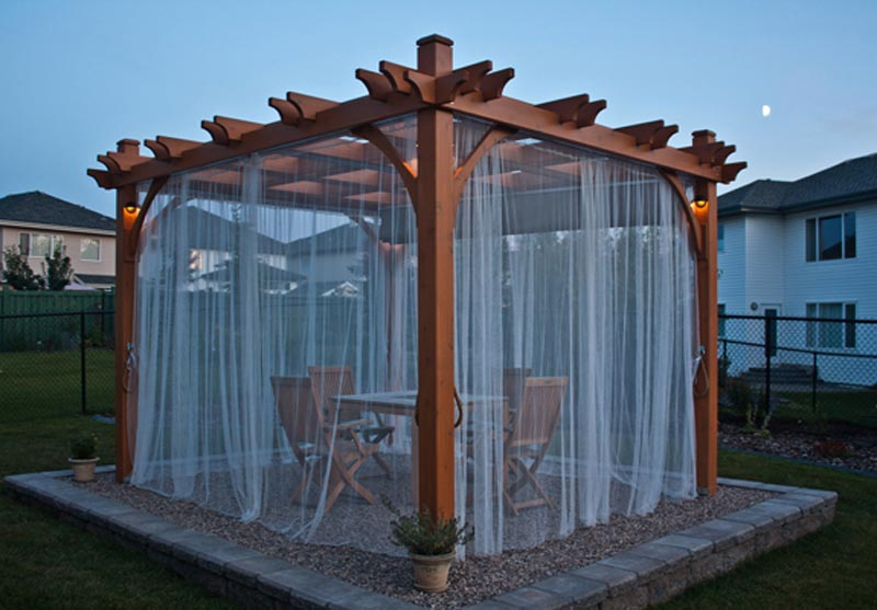 Pergola curtains for sale