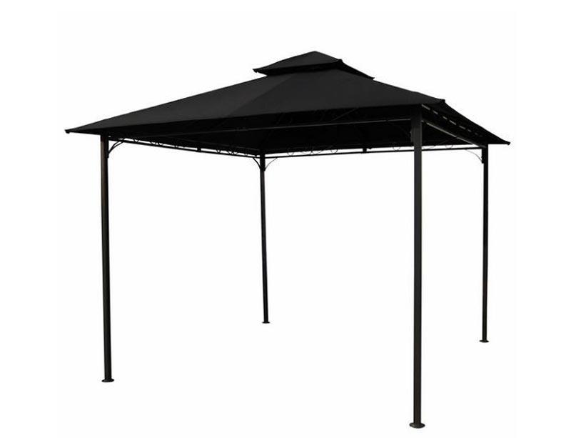 Metal frame gazebo canopy