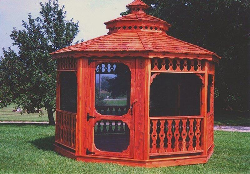 Victorian gazebo design