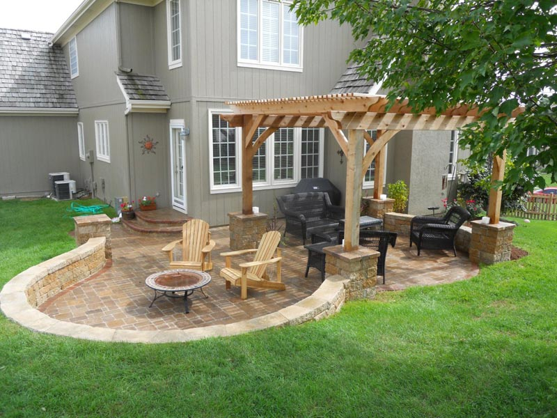 Outdoor patio area ideas