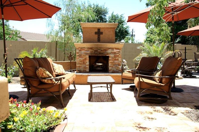 Outdoor patio designs arizona