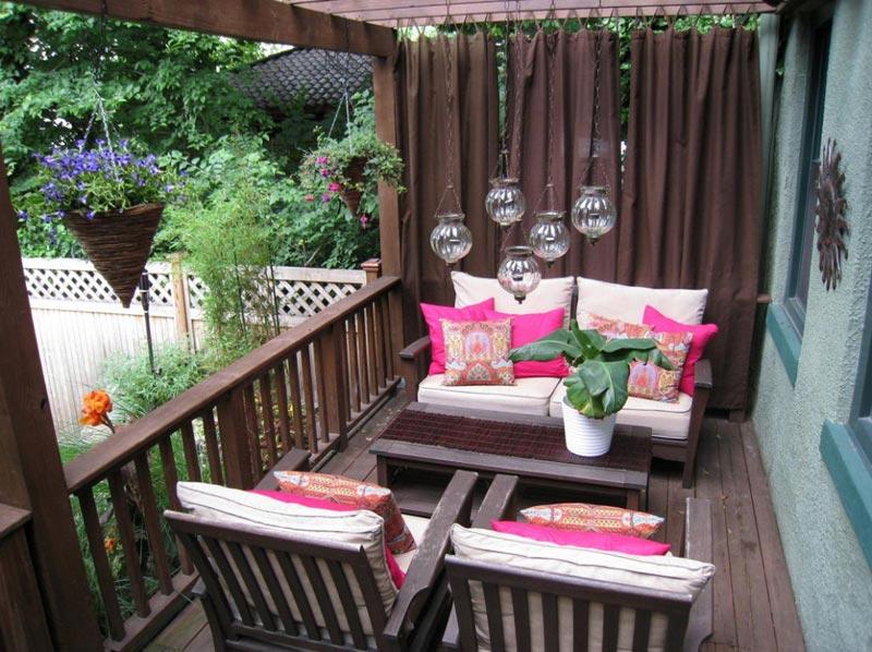 Apartment patio design ideas