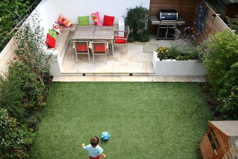 Garden patio design ideas pictures