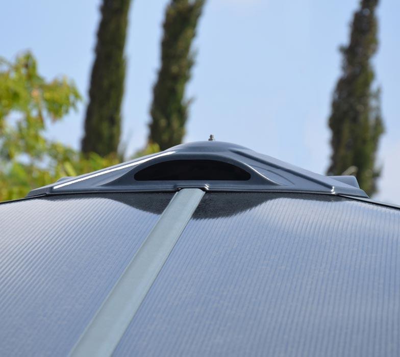Gazebo roof vent