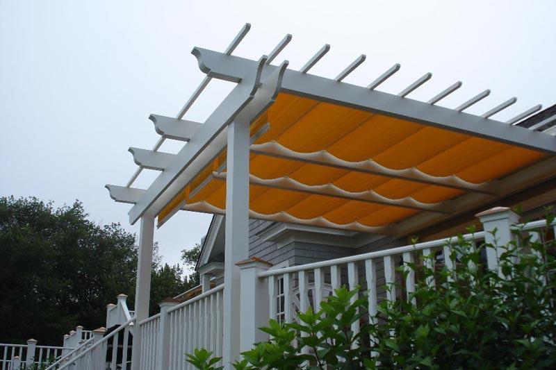 Retractable canopy for pergola diy