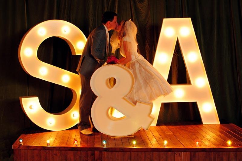 Wedding marquee wording ideas