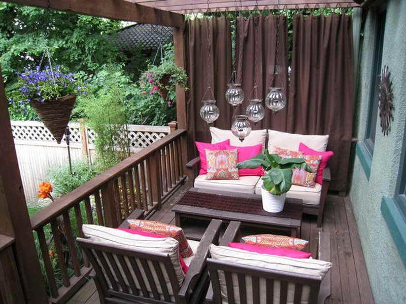 Apartment patio ideas photos
