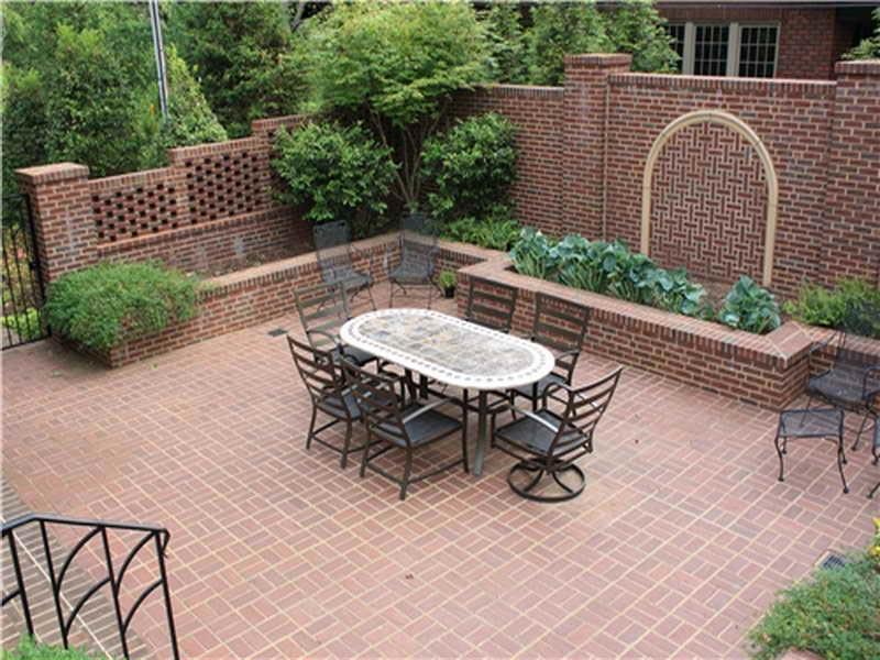 Brick patio design pictures