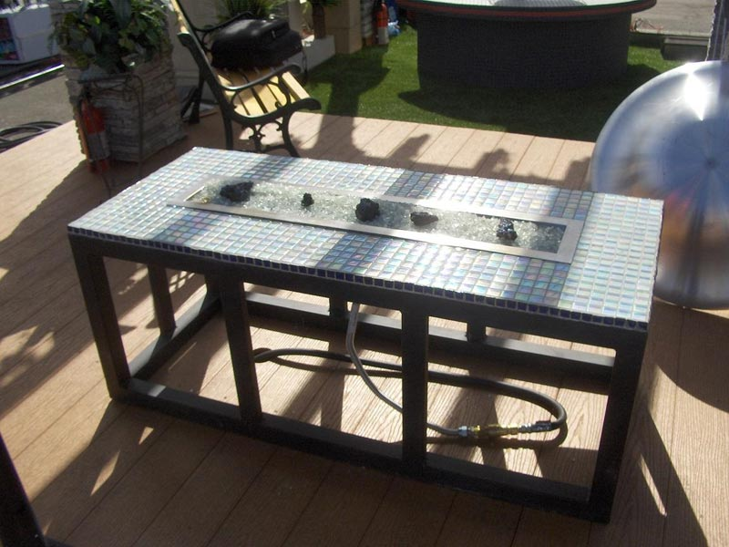 Gas outdoor fire pit diy