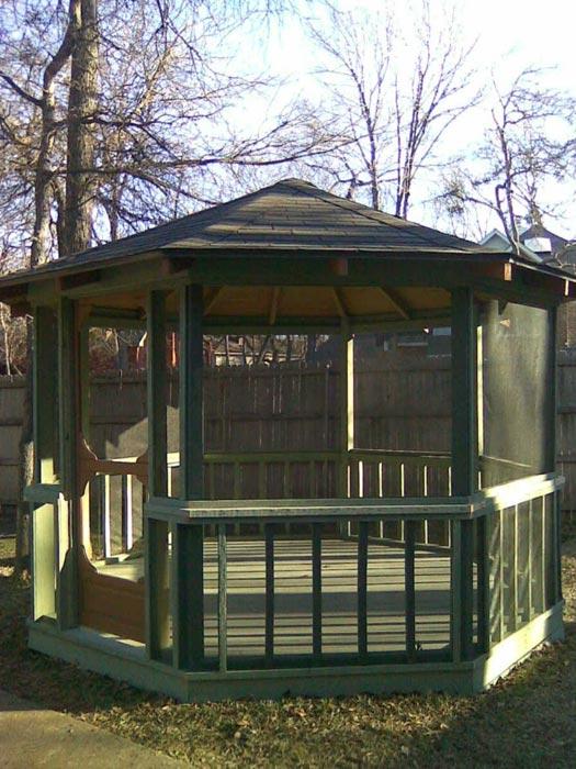 Cedar gazebo for sale