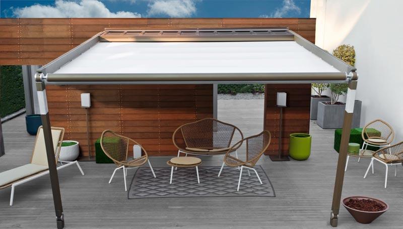 Custom pergola canopies